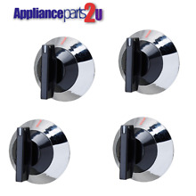 WP330190  NEW  4 PACK BURNER KNOBS FOR WHIRLPOOL RANGE   STOVE   330190  4 PACK
