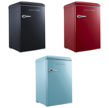 Galanz 4 4 Cu  cubic Ft Retro Mini Fridge  3 Colors    Brand New