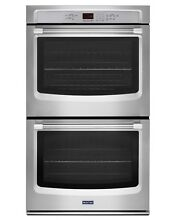 Maytag MEW9627DS 27 Inch Electric Double Wall Oven Stainless with convection
