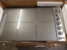 VIKING 36  PROFESSIONAL INDUCTION COOKTOP STAINLESS GENTLY USED