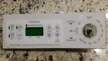 GE control panel WB27T10230  WHITE for model 191D2818P002