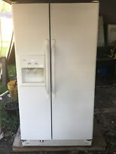Refrigerator Side By Side with Working Ice maker