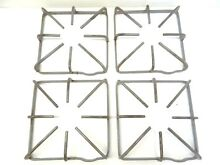 Gray Gas Stove Metal Replacement Stovetop Stove Parts Grates 8 5  x 8 5  x 1 75