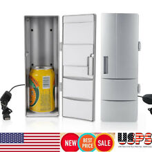 Mini USB Fridge Freezer Warmer Drink Beer Coffee Milk Can Car Travel Gift 10 50