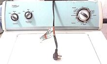 Whirlpool Top Load Washer   White   Light blue
