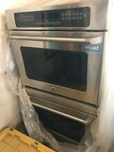 GE CAFE 30  DOUBLE WALL OVEN  STAINLESS CONVECTION