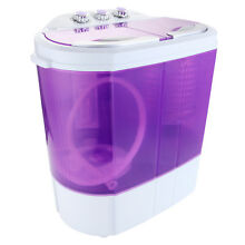 Modern Mini 8 9lbs Portable Washing Machine Compact Spin Dryer RV Dorm Laundry
