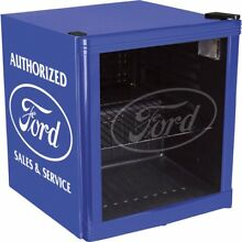 Nostalgic Mini Fridge Classic Ford Beverage Cooler Man Cave Sentimental Value