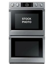 SAMSUNG 30  DOUBLE ELECTRIC STAINLESS STEEL WALL OVEN WITH FLEX DUO