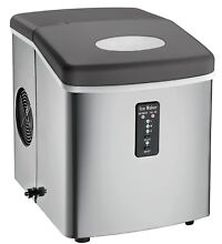 Small Igloo Countertop Ice Maker Machine Bucket Stainless Steel Multi Size Cube