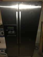 Whirlpool 24 5 Cu  Ft  Counter Depth Side By Side Refrigerator Model  GC5SHAXVS