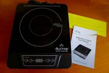 NIB DUXTOP Portable Induction Cooktop Countertop Burner Model 7100MC 1300W