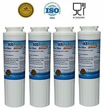 4 Pack   IcePure Water Filter To Replace Maytag  Amana  Kenmore  Jenn Air