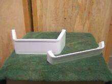 2  GE Refrigerator Door Shelf   WR71X2528   WR71X2701
