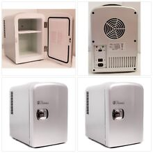 Mini Fridge Uber Chill Appliance 6 can Portable Thermoelectric Cooler Warmer