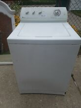 Maytag washer  white  heavy duty  supersize capacity  4 speed select  10 cycles
