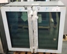 NEW OUT OF BOX U LINE 36 INCH 2 DOOR WINE CHILLER STAINLESS STEEL UNDERCOUNTER