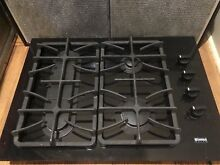 Kenmore Elite Gas Cooktop 30  Black  Countertop mount  electric ignition