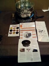 NUWAVE PRECISION 12  INDUCTION COOK TOP 2 MODEL  30151AR