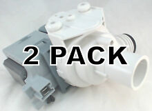 2 Pk  Clothes Washer Pump  for Maytag  AP4044331  PS2037270  34001340