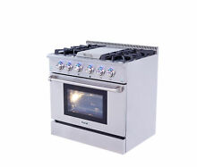 Thor Kitchen Professional 36  Free standing Gas Range with Griddle