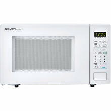 Sharp Carousel 21  1 4 cu ft  Countertop Microwave