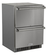 Marvel Outdoor Drawers 24 inch 5 cu  ft  Undercounter Refrigeration