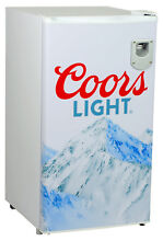 Koolatron Coors Light 3 3 cu  ft  Compact Refrigerator