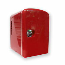 Tectron Compact Refrigerator Red