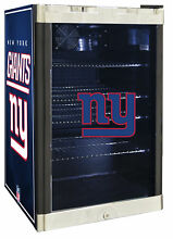 Glaros NFL 4 6 cu  ft  Beverage center New York Giants
