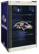 Glaros NFL 4 6 cu  ft  Beverage center Baltimore Ravens