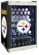 Glaros NFL 4 6 cu  ft  Beverage center Pittsburgh Steelers