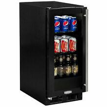 Marvel Low Profile 24 inch 4 9 cu  ft  Undercounter Beverage Center Left
