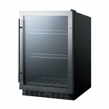 Summit Appliance 5 43 cu  ft  Counter Depth All Refrigerator