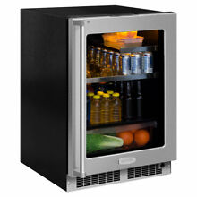 Marvel Professional 24 inch 5 3 cu  ft  Undercounter Beverage Center Right