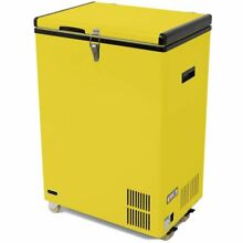 Whynter 3 17 cu  ft  Compact Refrigerator with Freezer Yellow