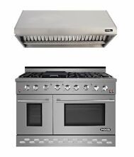 NXR Professional Ranges 48  Free standing Gas Range with Griddle NXRP1025