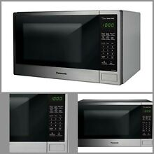 1100 Watts Countertop Microwave Oven Stainless Genius Cooking Sensor One Touch