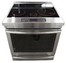 Jenn Air JIS1450DS 30  Euro Style Stainless Steel Induction Range