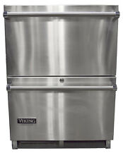 Viking Outdoor Series VRDO1240DSS 24  Outdoor Double Drawer Refrigerator