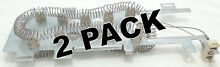 2 Pk  Dryer Heating Element for Whirlpool  Sears  AP3866035  PS990361  8544771