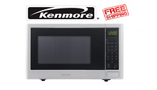NEW Kenmore Kenmore 73772 0 9 cu  ft  Countertop Microwave   White FREE SHIPING