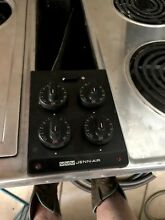 Jenn air cooktop electric downdraft