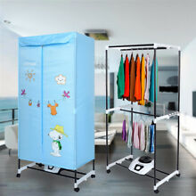 Home 1000W Electric Clothes Fast Dryer Portable Folding Wardrobe Drying Machine