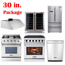 30  Thor Kitchen Cooking Gas Range Stoves   Dishwasher  Range Hood  Wine Cooler