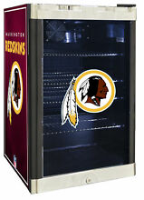 Glaros NFL 4 6 cu  ft  Beverage center Washington Redskins