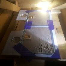 New Broan Pm500ss 20  Vent Hood insert  500 Cfm 420 Stainless Steel
