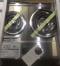 Ge Double Burner Electric Built In Cooktop 21
