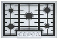 NEW BOSCH 800 Series 30  W Gas 5 Burner Cooktop Stainless MOD  NGM8055UC
