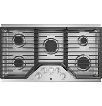 GE Profile PGP7036SLSS 36 Inch Natural Gas Sealed Burner Style Cooktop with 5
